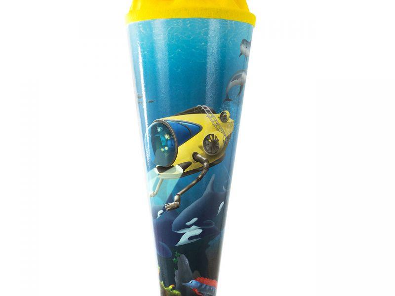 Schultüte »Unterwasserwelt«, 70 cm
