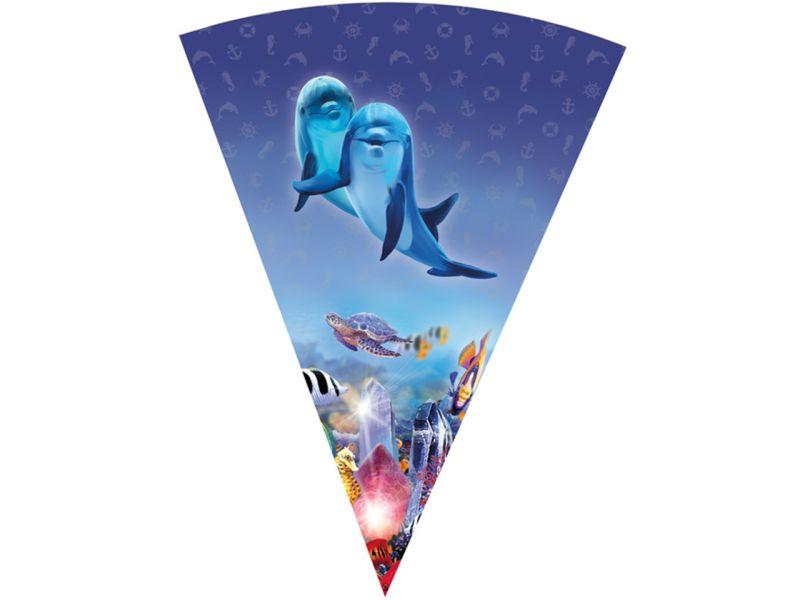 Schultüte »Delfinwelten«, 70 cm