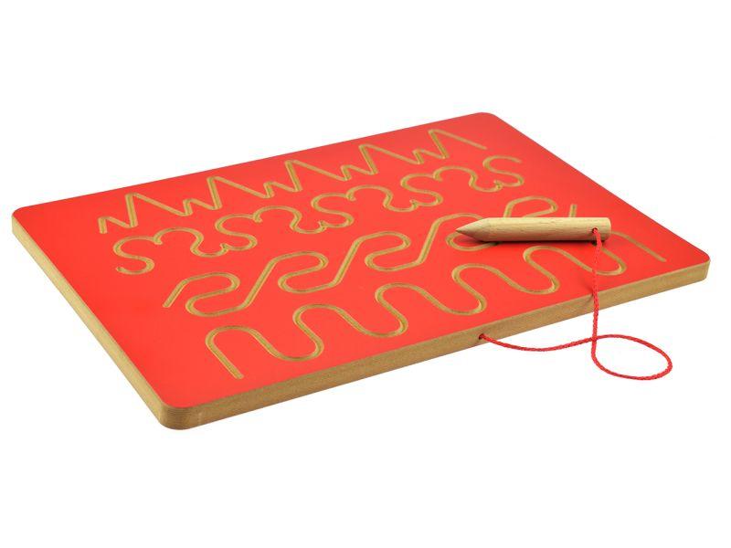 Grafomotorische-Tafel Spar-Set »Schwünge«