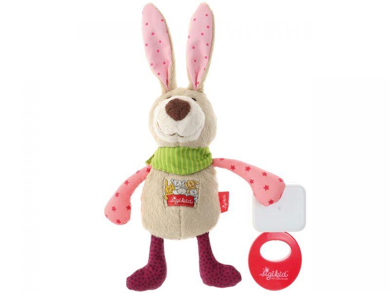sigikid Spieluhr Hase rosa Red Star Collection