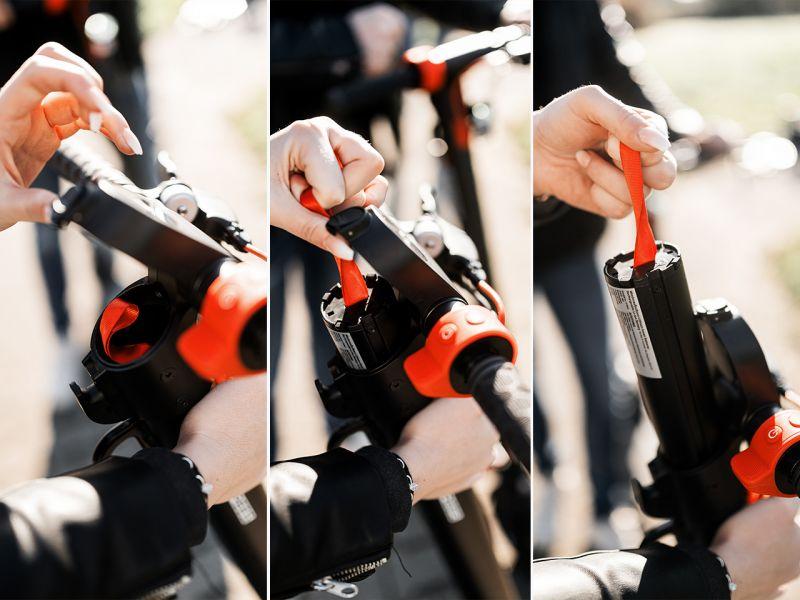 Six Degrees Ersatzbatterie für E-Scooter VELO E7
