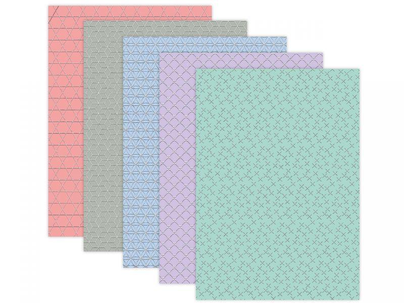 URSUS Designkarton Geometric 200 g/m², DIN A4