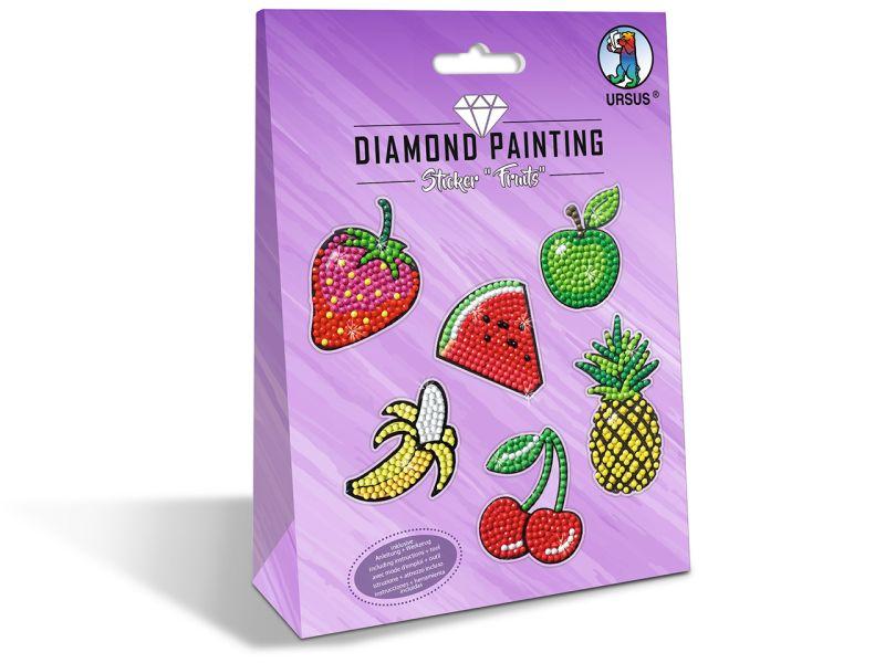 URSUS Diamond Painting Sticker Fruits
