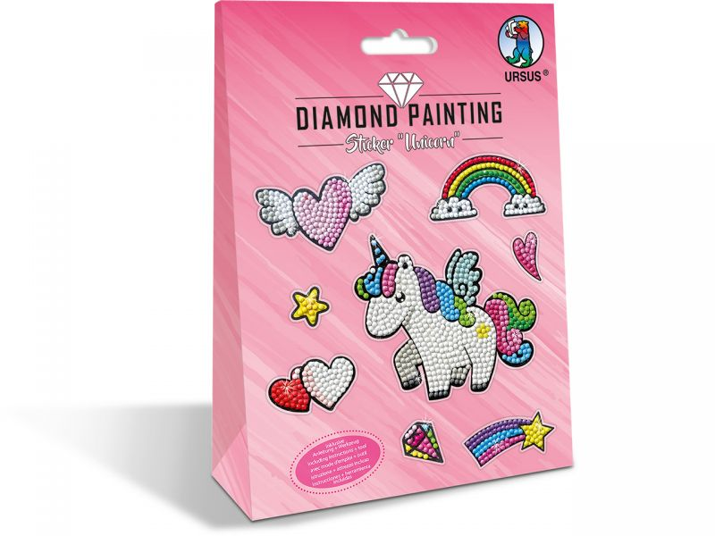 URSUS Diamond Painting Sticker Unicorn