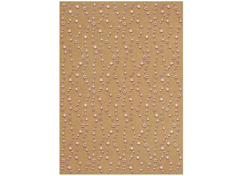 URSUS Designkarton Inspiration »Sterne«, DIN A4, 5 Blatt