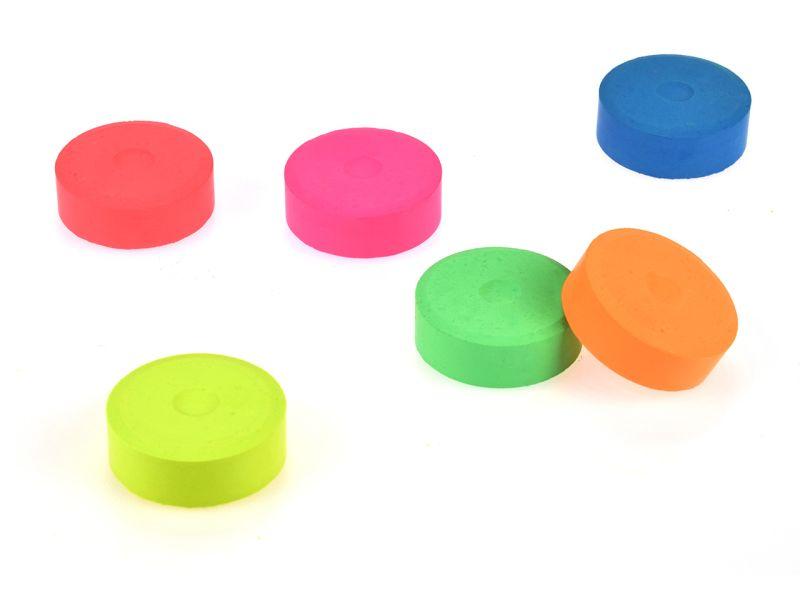 Spielheld Neon-Wasserfarben-Pucks, 6er