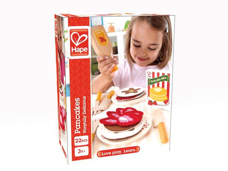 Hape Pfannkuchen-Set, 22-tlg.