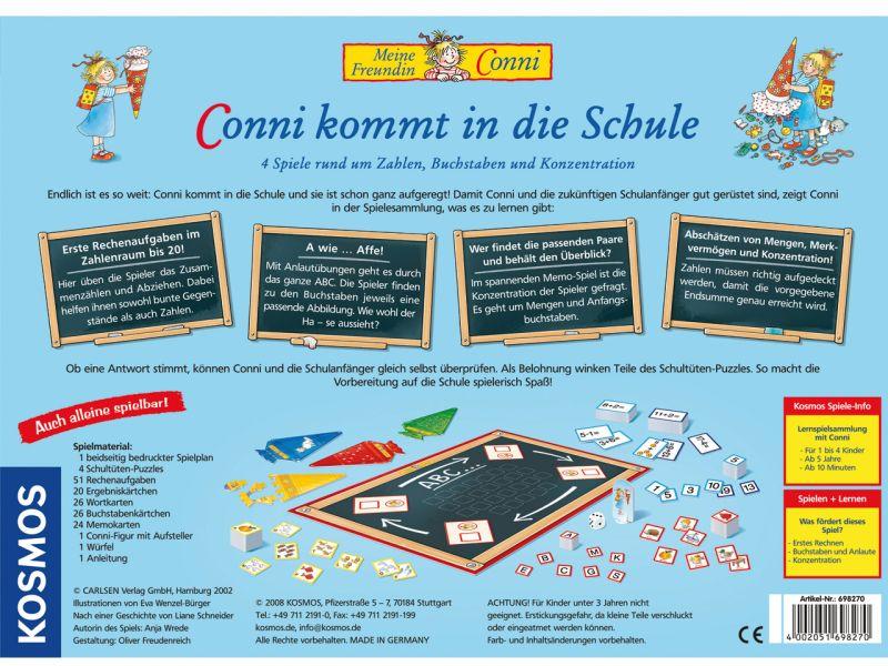 Kosmos »Conni kommt in die Schule«