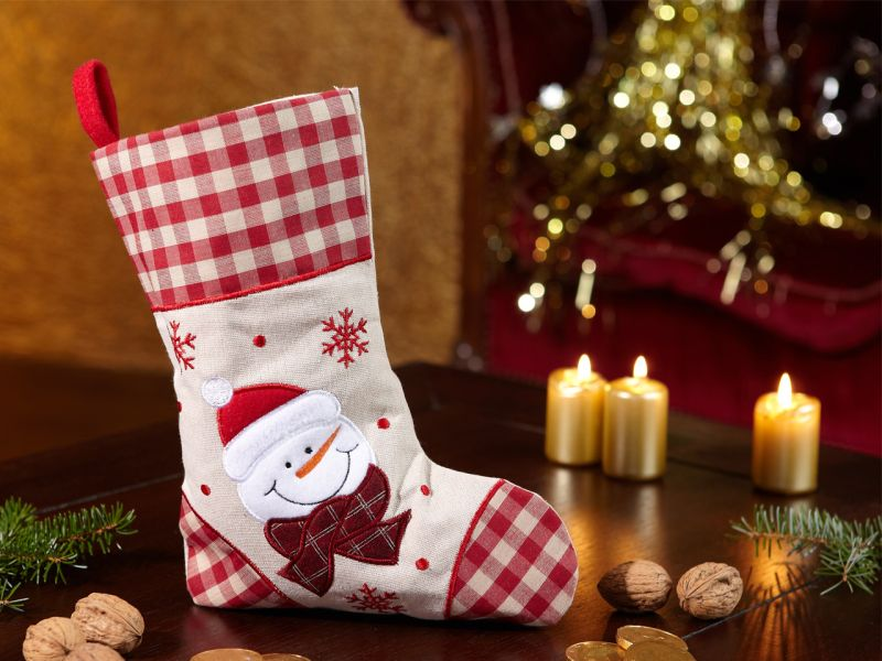 Weihnachtsstiefel »Schneemann«
