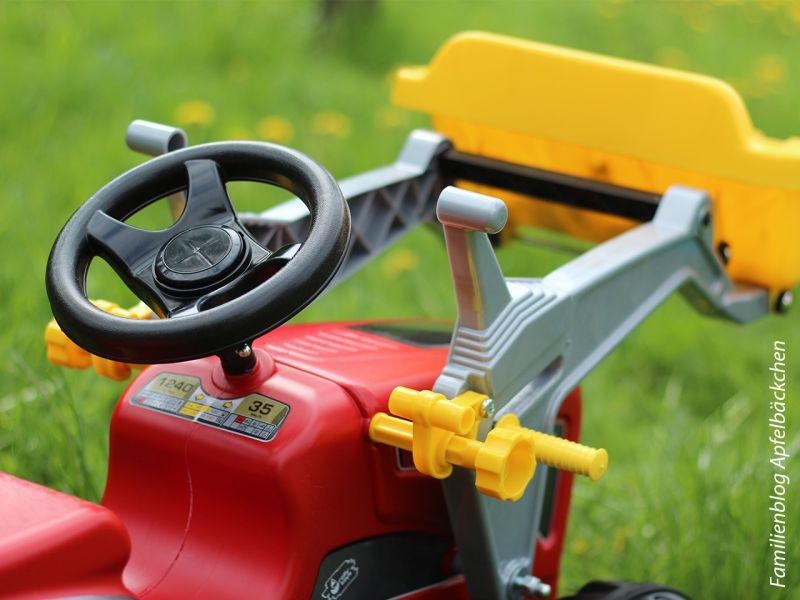rolly toys rollyKiddy Futura, Traktor inkl. Lader