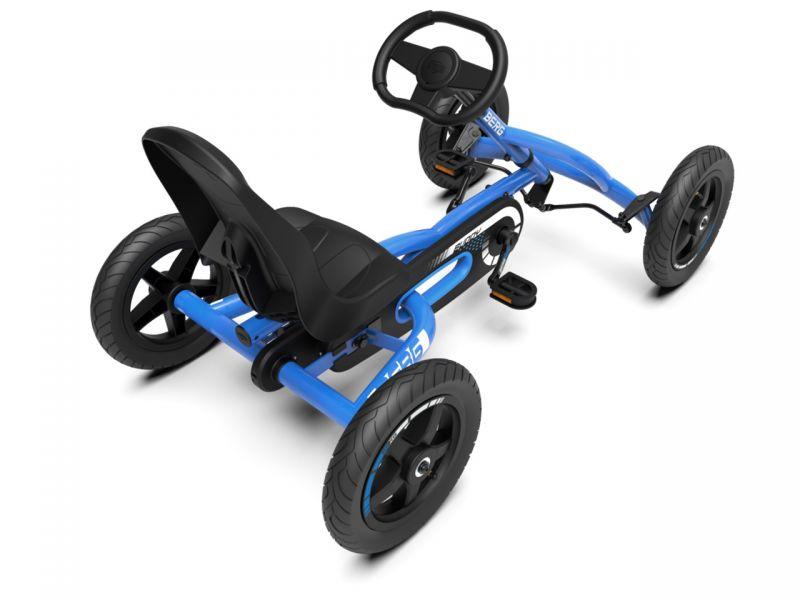 BERG Buddy Blue Pedal-Gokart - Limitierte Edition