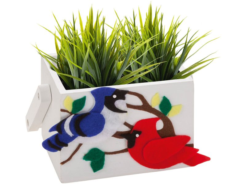 Folia Bastelfilz selbstklebend, 10 Farben sortiert