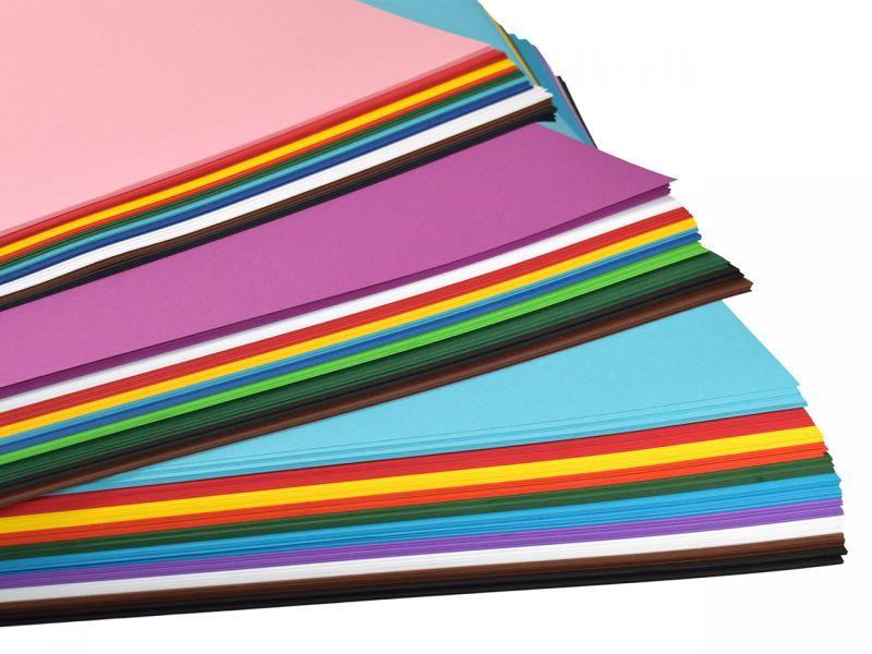 Bastelpapier 50 x 70 cm, Vorratspack, 300-tlg.