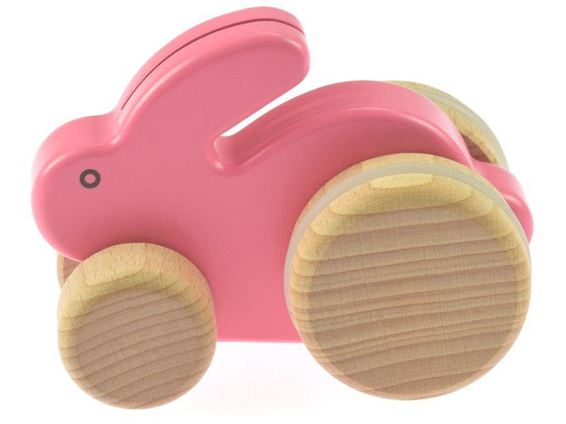 BAJO Schiebetier Kleiner Hase, pink