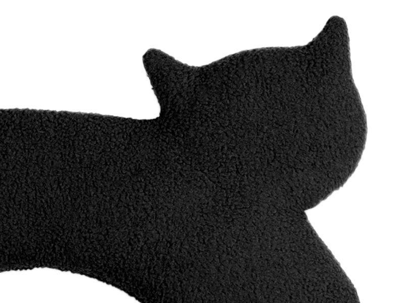 Leschi Wärmekissen »Die Katze Minina« stehend groß, Mitternacht/Mitternacht