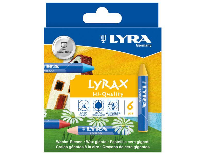 LYRA Wachs-Riesen LYRAX, 6er-Set