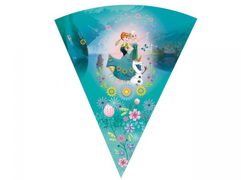 Schultüte »Disney's Eiskönigin Frozen Fever« mit Glitzer, 85 cm