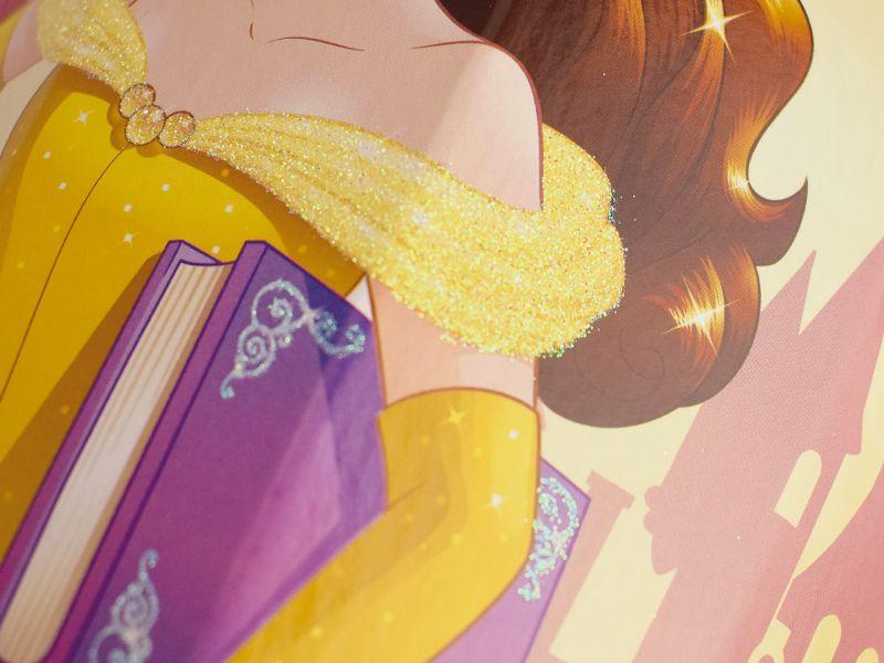 Schultüte »Disney's Princess Belle« mit Glitzer, 85 cm