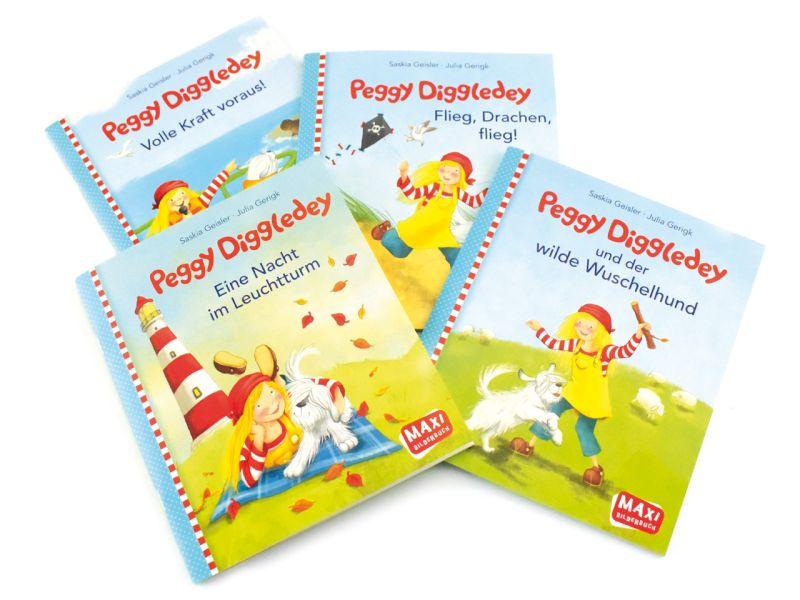 Peggy Diggledey Maxibuch »...und der wilde Wunschelhund«