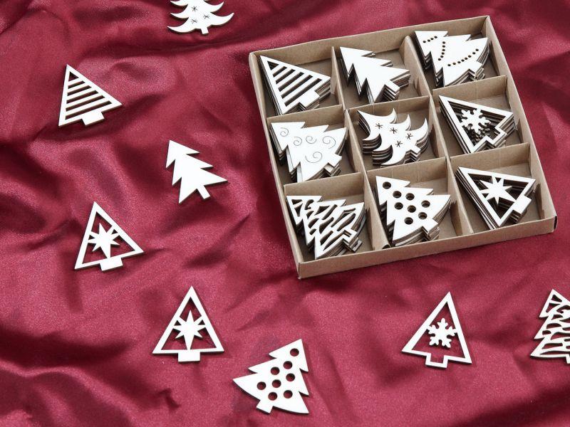 Weihnachts-Streudeko, 54-tlg.