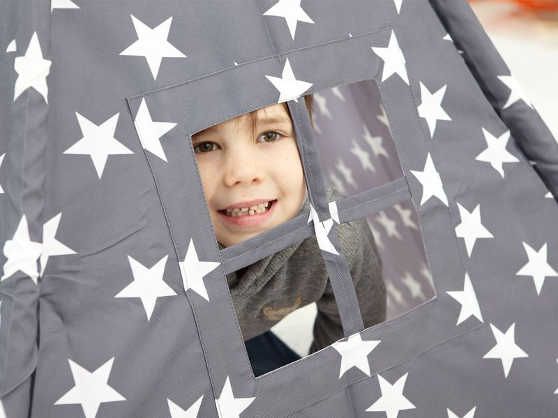 Kinder Spielzelt Tipi Sterne