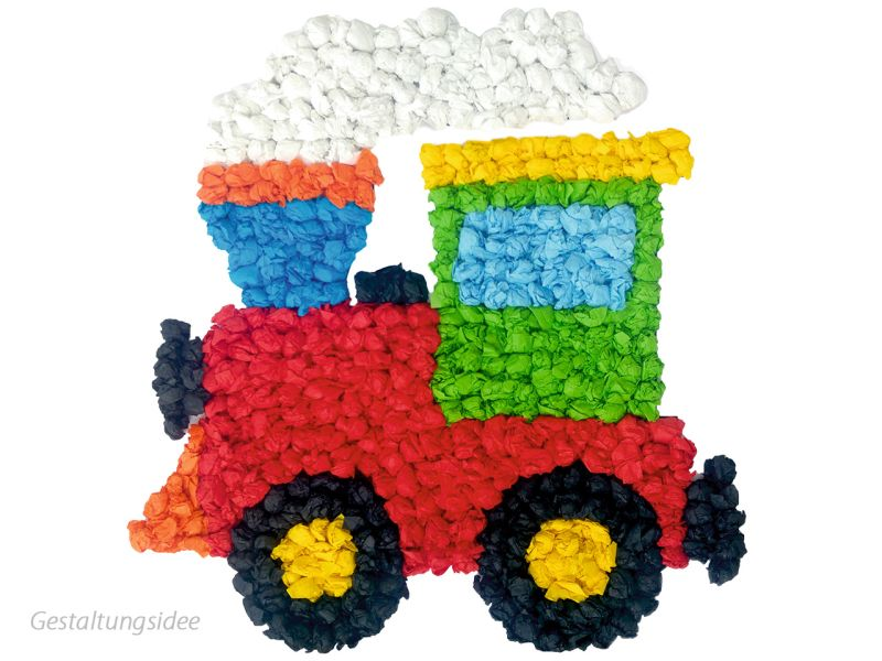 URSUS Knüddelbilder-Set »Fahrzeuge«