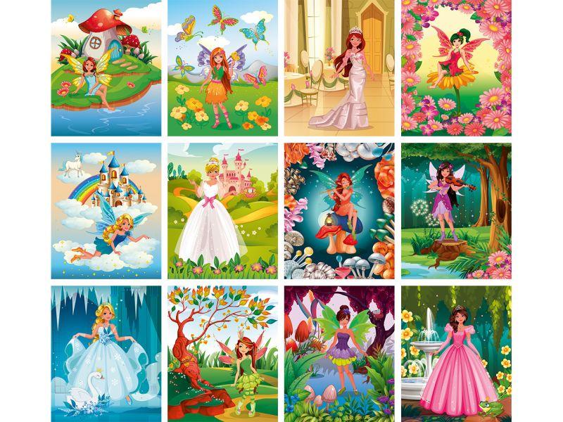 URSUS Mein magisches Kratzel Buch »Feen & Prinzessinnen«