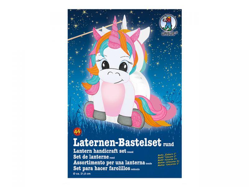Laternen-Bastelset »Baby Einhorn«
