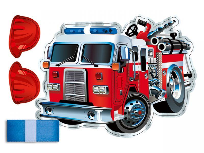 URSUS Dekorations-Set »Feuerwehr«