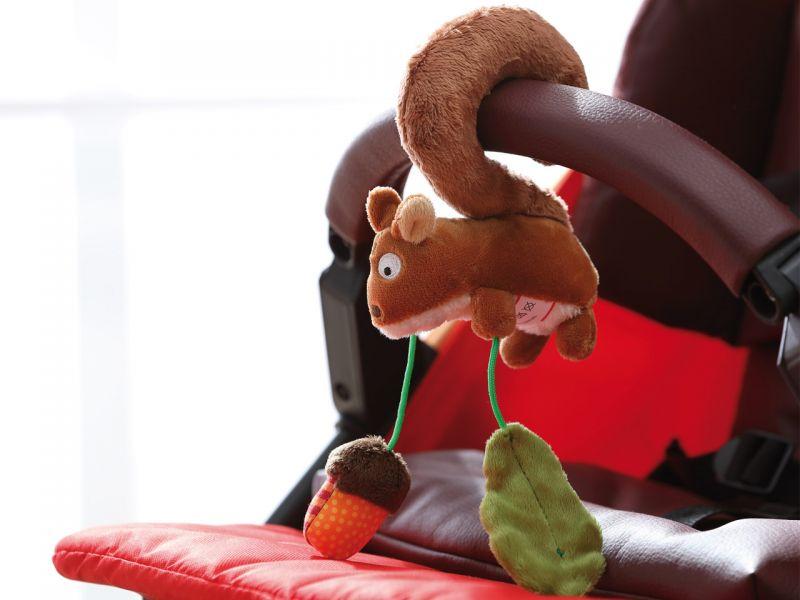sigikid Anhänger Babyschale Eichhörnchen