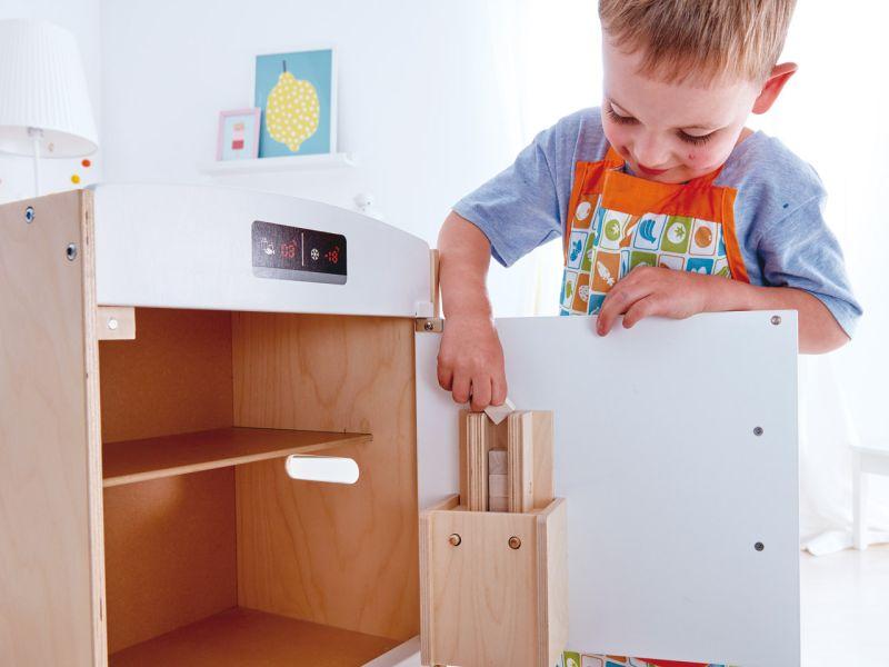 Hape Weißer Kühlschrank mit Gefrierfach