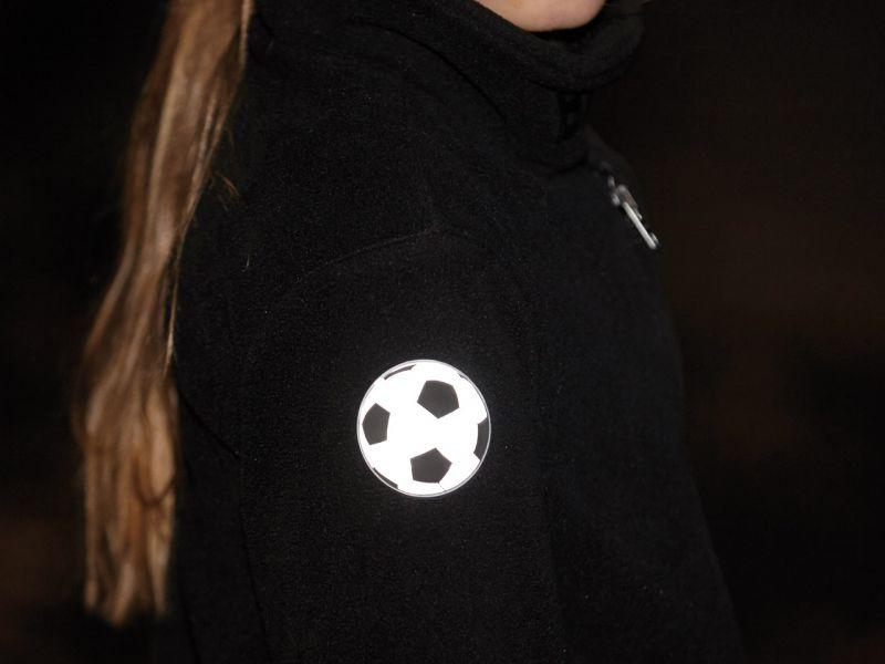 Reflektorensticker »Fußball«, 6er-Set