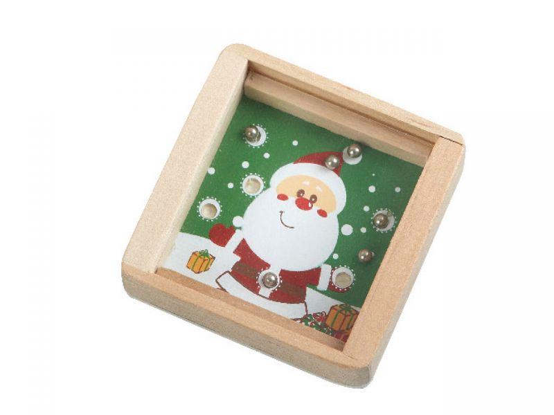 Geschicklichkeitsspiel Weihnachten, 1 Stück, Motive sortiert