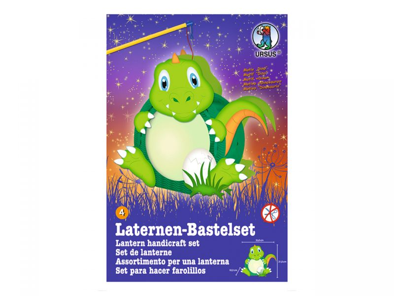 Laternen-Bastelset Easy Line »Dino Polldi«
