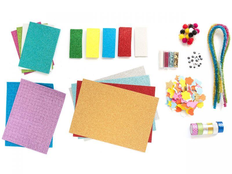 Folia Kreativ Box »Glitter Mix«, über 900 Teile