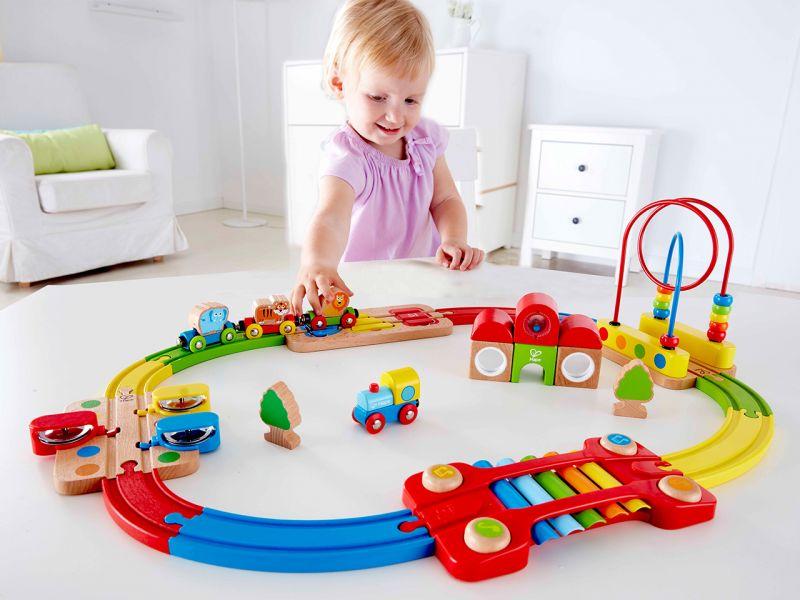Hape Erlebnis Eisenbahn-Set, 30-tlg.