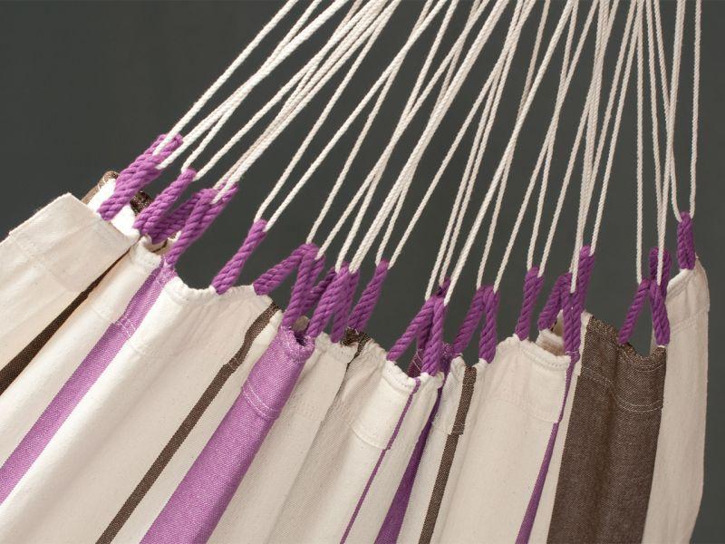 LA SIESTA Caribeña Einzelhängematte Purple