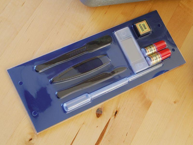 Mikroskop-Experimentier-Set, 11-tlg.
