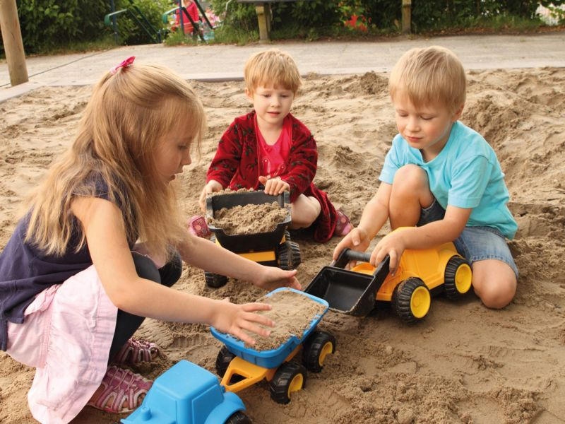 beleduc Traktor mit Anhänger