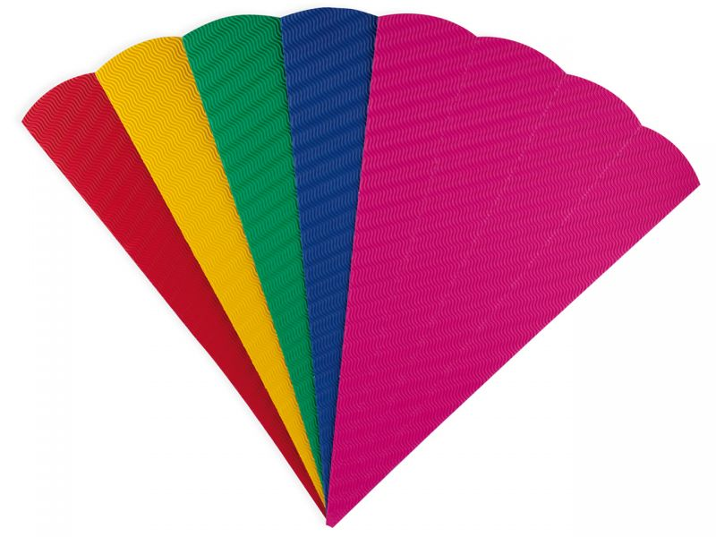 Schultüten-Rohling aus Wellpappe, Farbe wählbar