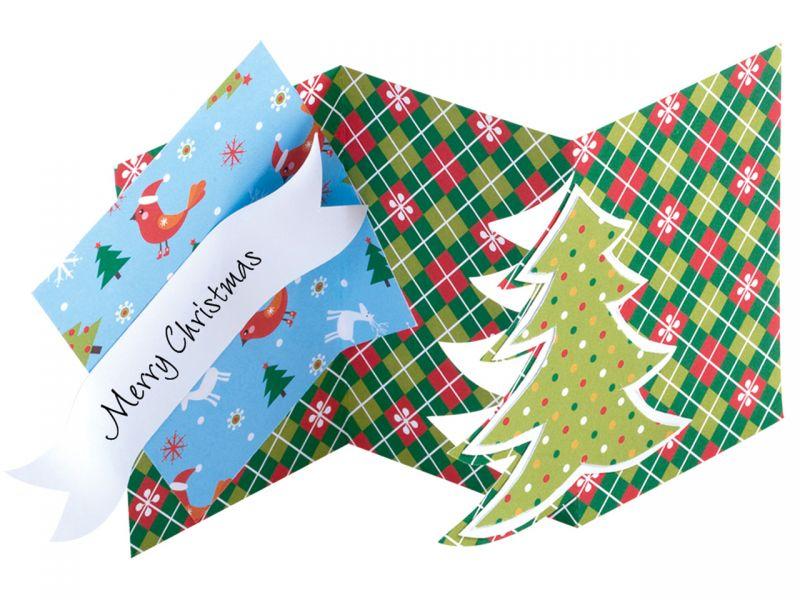 Folia Motivblock Weihnachten, 24 x 34 cm, 20 Motive sortiert