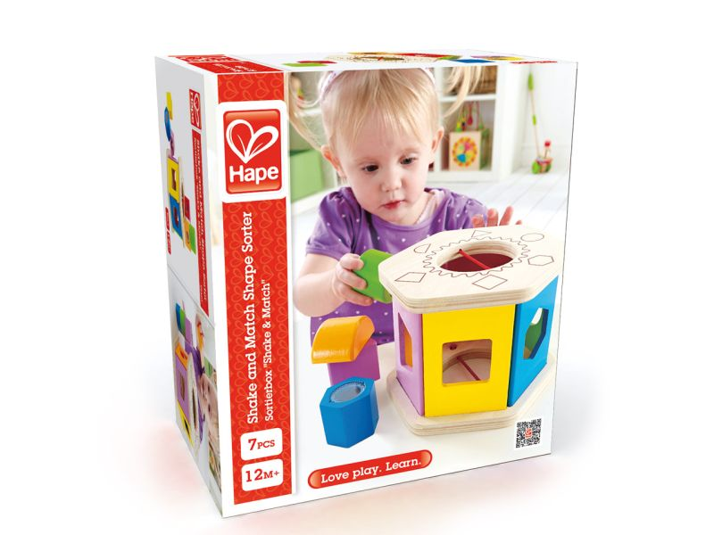 Hape Sortierbox »Shake & Match«