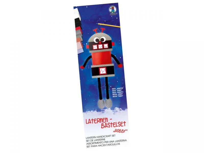 Laternen-Bastelset Roboter Robby