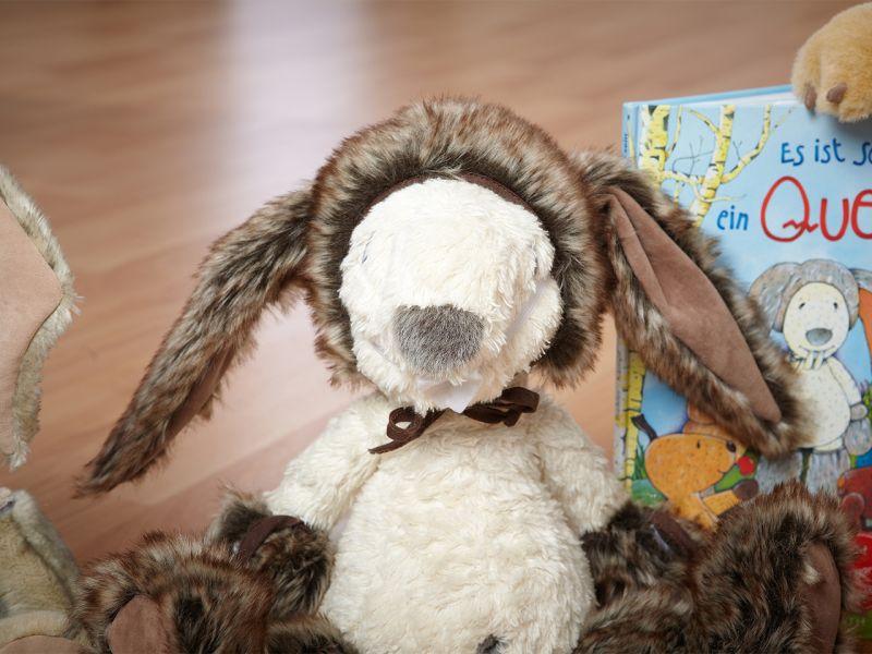 Querk »Erasmus« mit Hasen-Kostüm, Set inkl. Buch & CD
