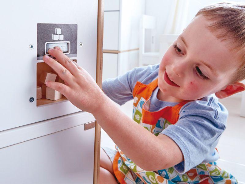 Aufbau Eines Kühlschrank : Hape weißer kühlschrank mit gefrierfach spielheld