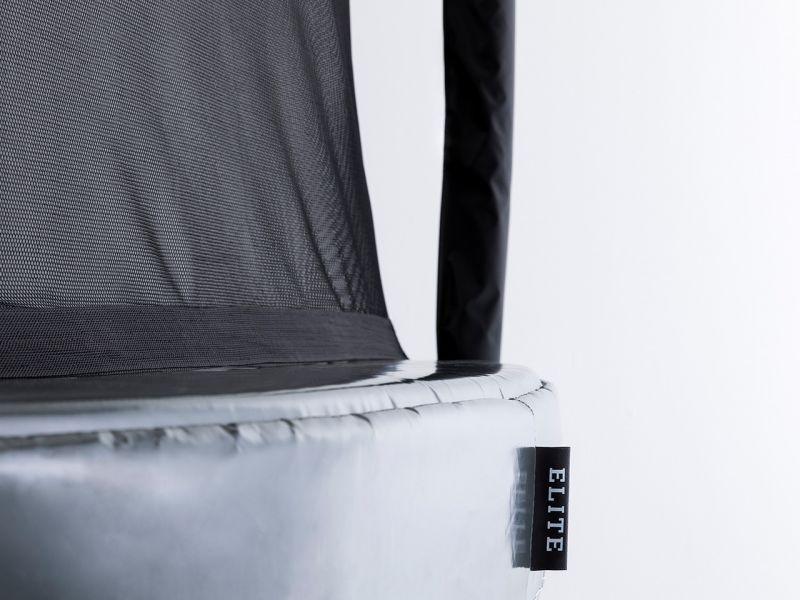 BERG Trampolin Grand Elite Regular 520 Grey inkl. Sicherheitsnetz Deluxe