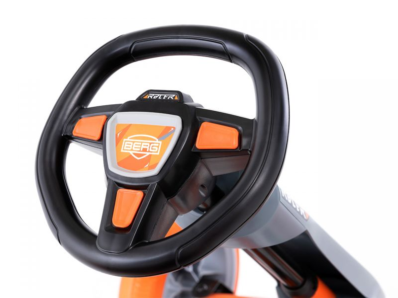 BERG Reppy Racer Pedal-Gokart, inkl. Soundbox