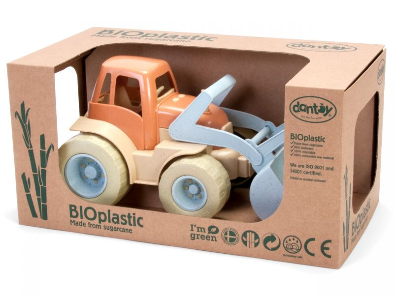 dantoy BIOplastic Traktor mit Frontlader