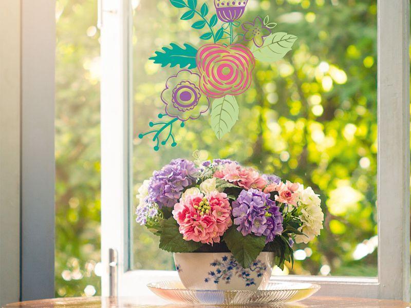 Folia Fensterbilder Maxi-Set »Warme Jahreszeit«