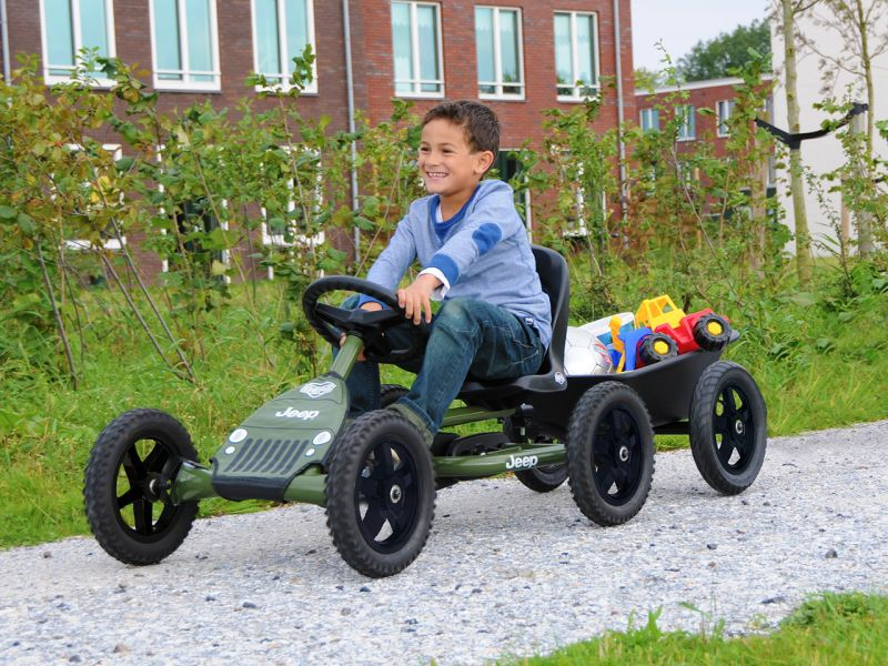 BERG Jeep® Junior Pedal-Gokart